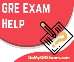 GRE Exam Help